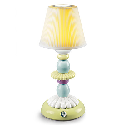 〈リヤドロ〉LOTUS FIREFLY LAMP (GREEN&BLUE)